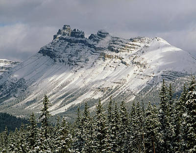 Photograph - 1m3538-dolomite Peak by Ed  Cooper Photography