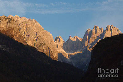 Photograph - Dolomite Sunrise by Phil Banks