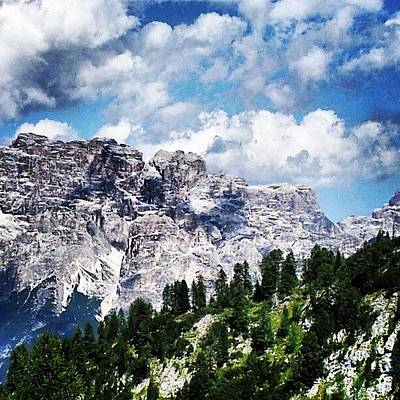 Skylines Wall Art - Photograph - Dolomites Mountains by Ernesto Cinquepalmi