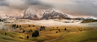 Alps Photograph - Dolomites Myths by Marian Kuric