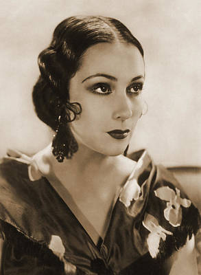 Dolores Photograph - Dolores Del Rio, Hollywood Movie Star by Photo Researchers