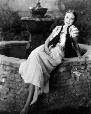 Del Rio Photograph - Dolores Del Rio by Silver Screen