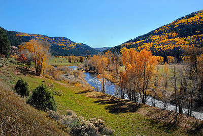 Photograph - Dolores River Fall 48 by Jeff Brunton