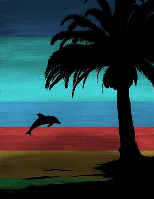Painting - Dolphin Dreams by Barbara St Jean