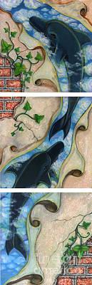 Dolphin In My Dream Art Print by Praphavit Premtha