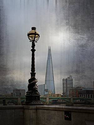 Dolphin Lamp Posts London Art Print