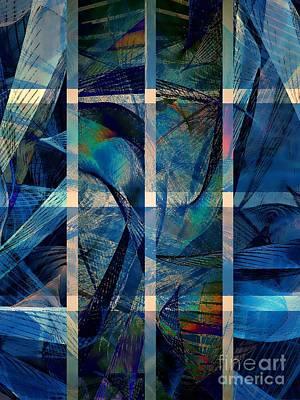 Dolphins Digital Art - Dolphinarium by Klara Acel