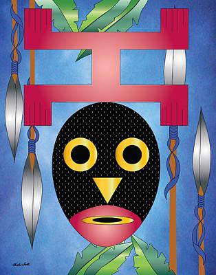 Beat It Digital Art - Domaray Bird Of Death by Charles Smith