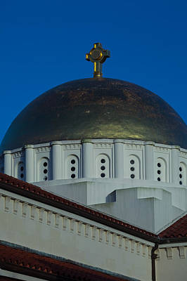 Photograph - Dome At St Sophia by Ed Gleichman