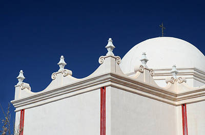 Photograph - Dome At The Mission by Joe Kozlowski