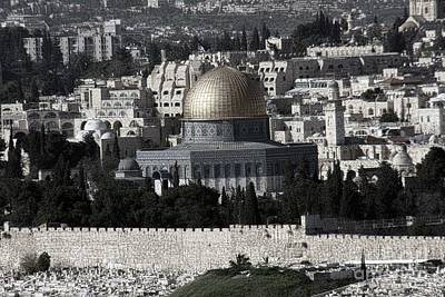 Photograph - Dome Of Rock by Tom Griffithe