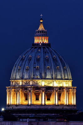 Photograph - Dome Of Saint Peter by Fabrizio Troiani