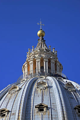 Photograph - Dome Of St Peters by Tony Murtagh
