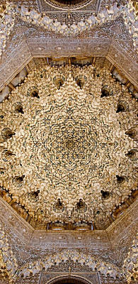 Photograph - Dome Of The Hall Of The Two Sisters by Weston Westmoreland