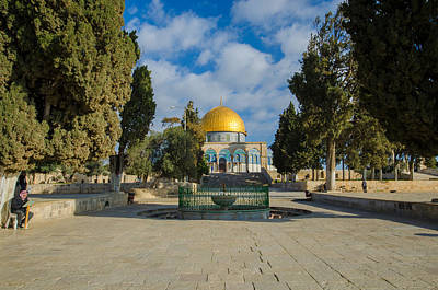 Photograph - Dome Of The Rock by David Morefield