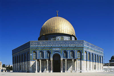 Muslims Of The World Photograph - Dome Of The Rock, Jerusalem by Adam Sylvester