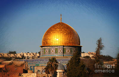 Painting - Dome Of The Rock - Painted by Doc Braham