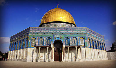 Dome Of The Rock Art Print by Stephen Stookey