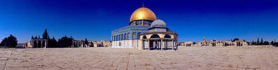 Clear Sky Photograph - Dome Of The Rock, Temple Mount by Panoramic Images
