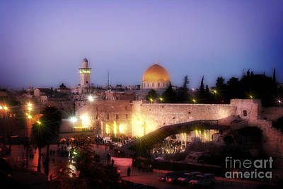 Photograph - Israel At Twilight by Doc Braham