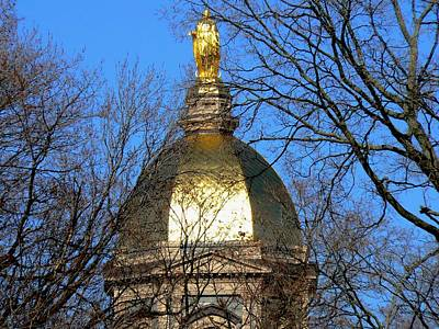 Photograph - Dome Peeking Out by Connie Dye