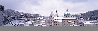 Grey Clouds Photograph - Dome Salzburg Austria by Panoramic Images