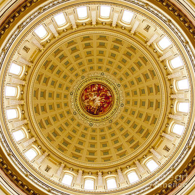 Photograph - Capitol Dome - Madison - Wisconsin by Steven Ralser