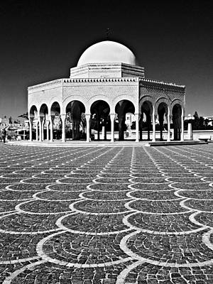 Photograph - Domed Building / Tunisia by Barry O Carroll