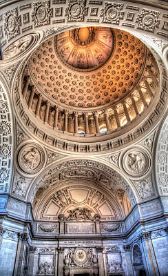 Photograph - Domed Ornate Interior by Susan Leonard