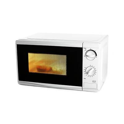 Domestic Microwave Oven Art Print by Science Photo Library