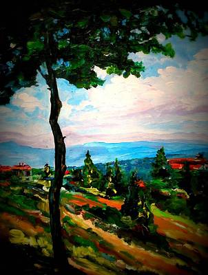 Painting - Dominant Tree by Ray Khalife