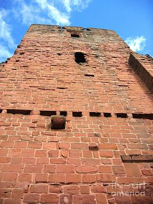Kenilworth Castle Wall Art - Photograph - Dominating by Denise Railey