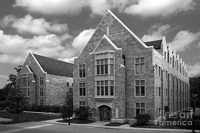 Dominican University Parmer Hall Art Print by University Icons