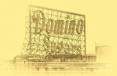 Photograph - Domino Sugars Baltimore II by Tony Cooper