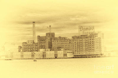 Photograph - Domino Sugars Baltimore by Tony Cooper