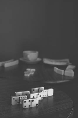 Photograph - Dominoes Coffee Break II by Stephanie Hollingsworth
