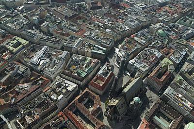 Historic Photograph - Domkirche St. Stephan, Vienna by Xavier Durán