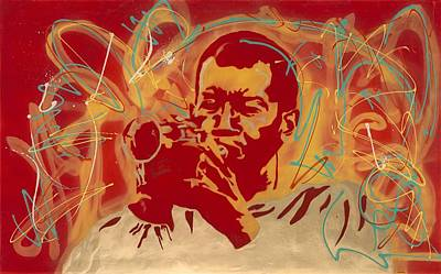 Don Cherry Painting - Don C. by Tomas Aleman