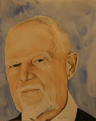 Don Cherry Painting - Don Cherry by Betty-Anne McDonald
