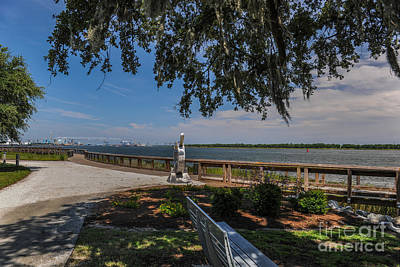 Photograph - Don Holt Bridge Over The Cooper River by Dale Powell