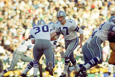 Newman Photograph - Don Meredith Hands Off by Retro Images Archive