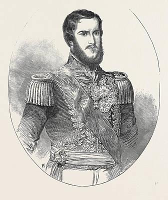 Don Pedro II., Emperor Of Brazil Art Print by Brazilian School
