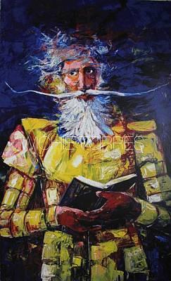 Don Quijote Con Su Libro Original