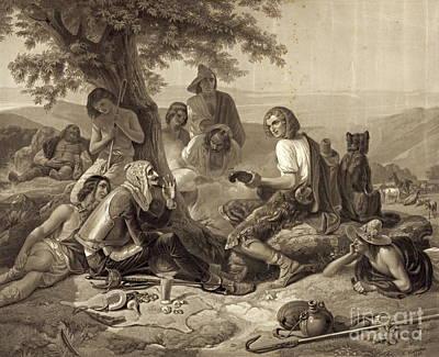 Don Quixote 1845 Art Print