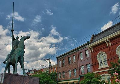 Landscape Photograph - Don Quixote In Philadelphia by Steven Richman