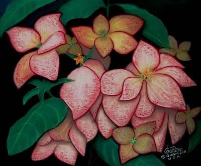 Dona Aurora2 Art Print by Charito ChatRose Mahilum