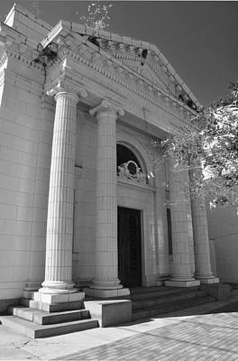 Photograph - Donaldsonville Bank Closure by Helen Haw