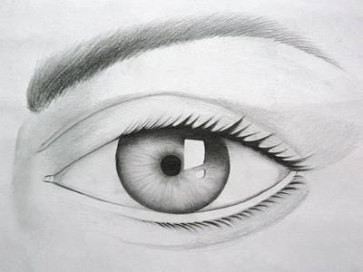 Drawing - Donate Your Eyes by Tanmay Singh