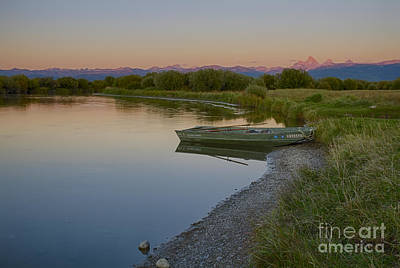 Photograph - Done Fishing by Idaho Scenic Images Linda Lantzy