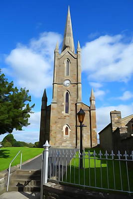 Photograph - Donegal Church by Charlie and Norma Brock